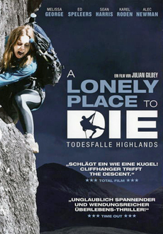 Cover - A Lonely Place to - Die Todesfalle Highlands